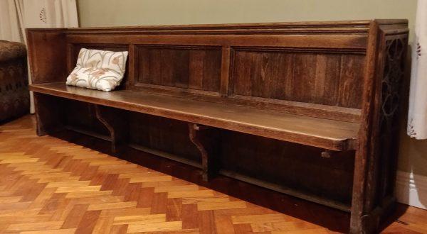 3 panel Bath Abbey Pew